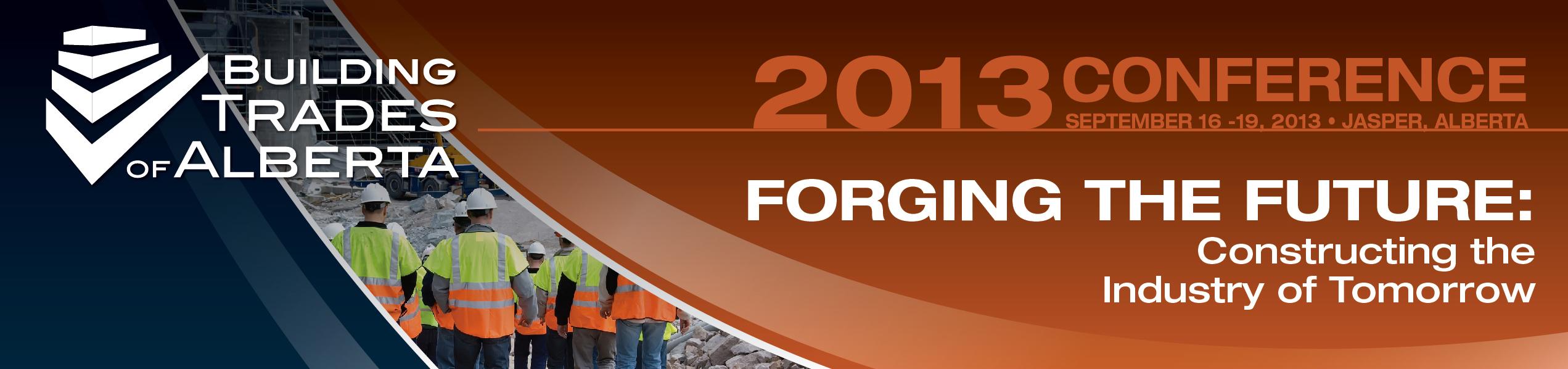 Building Trades of Alberta 2013 Conference